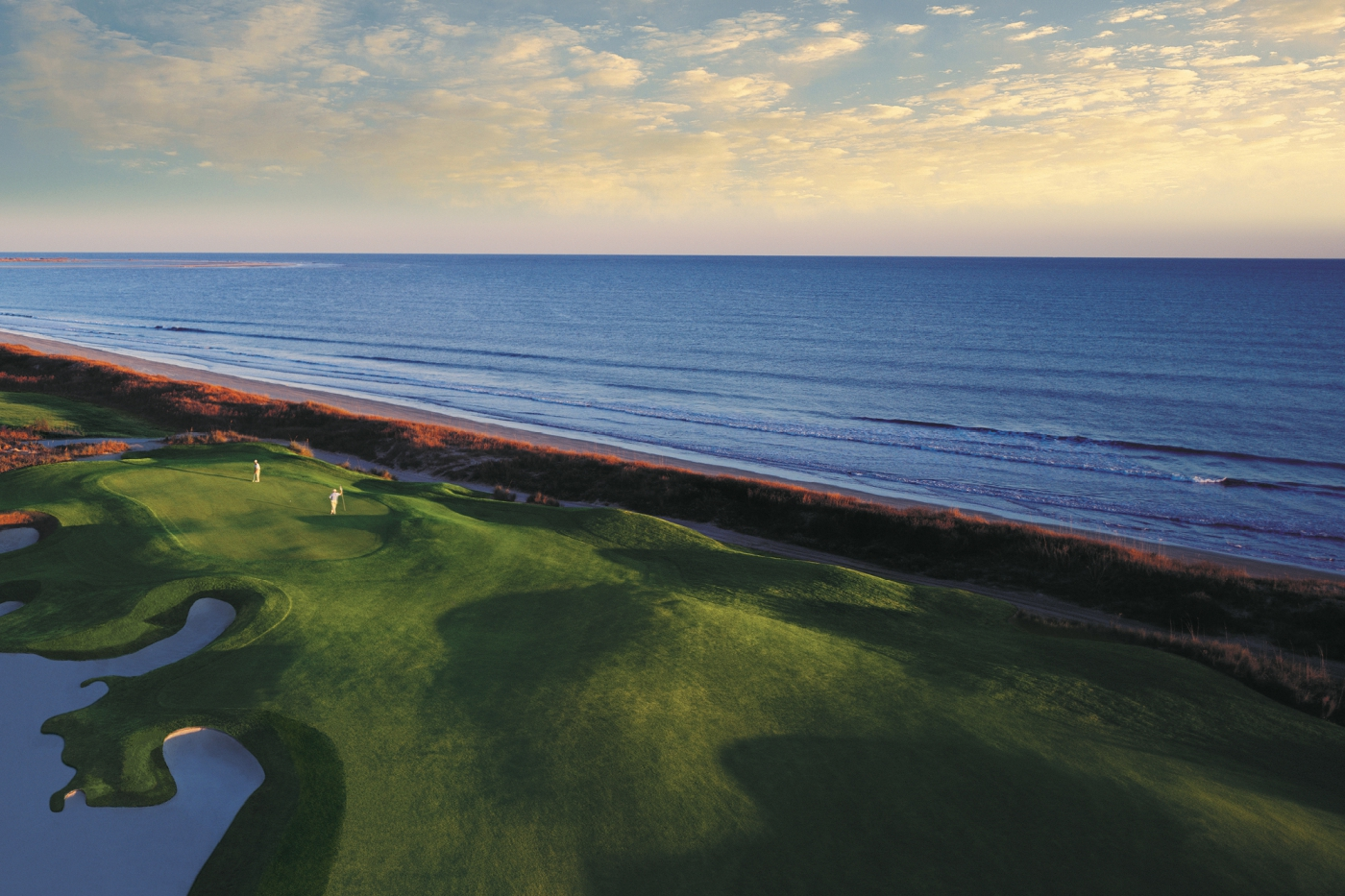 Visit Kiawah Island and work on your swing to the peaceful sounds of ocean waves.