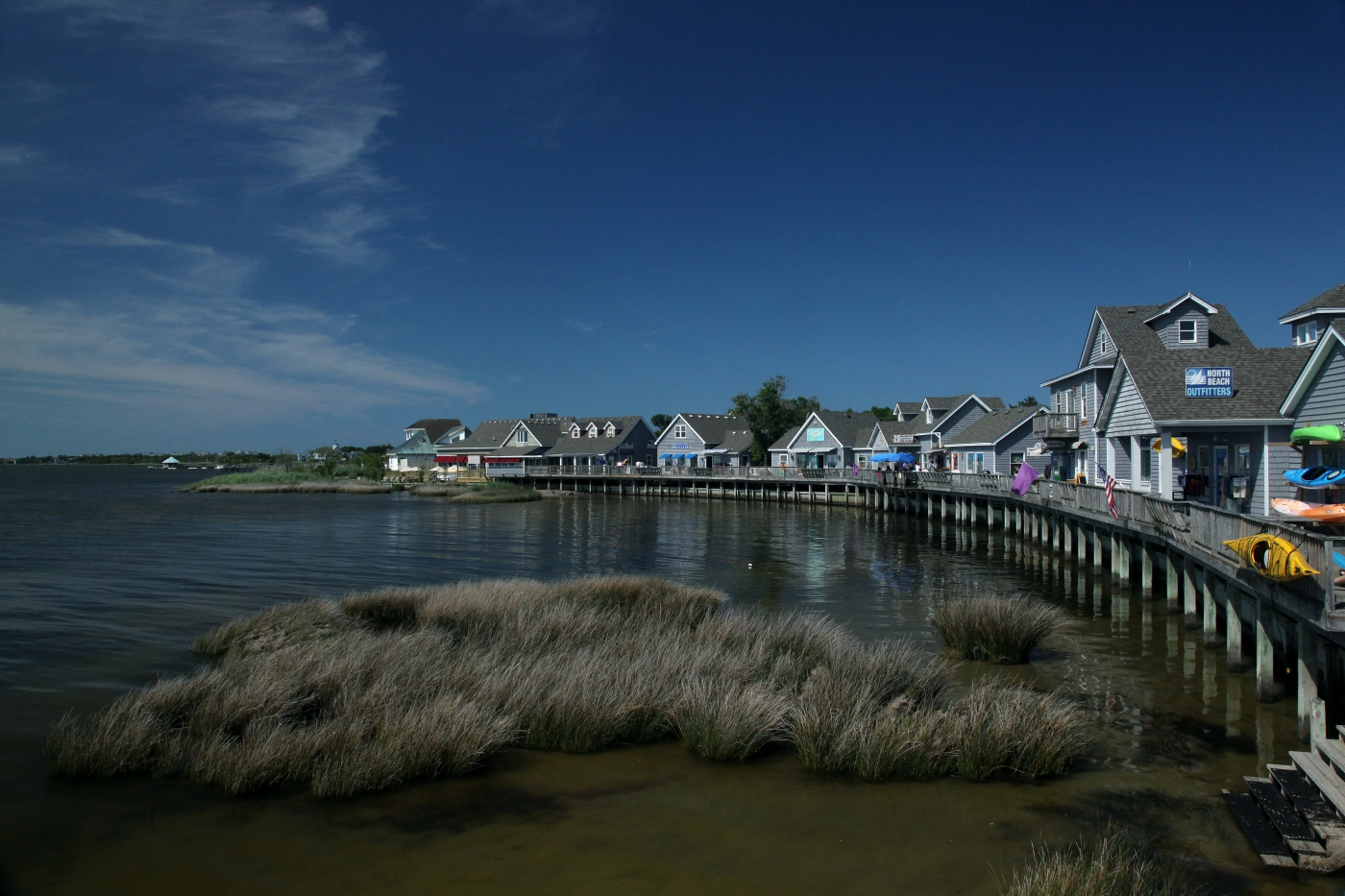 Waterfront villages and fun await along North Carolina's Outer Banks.