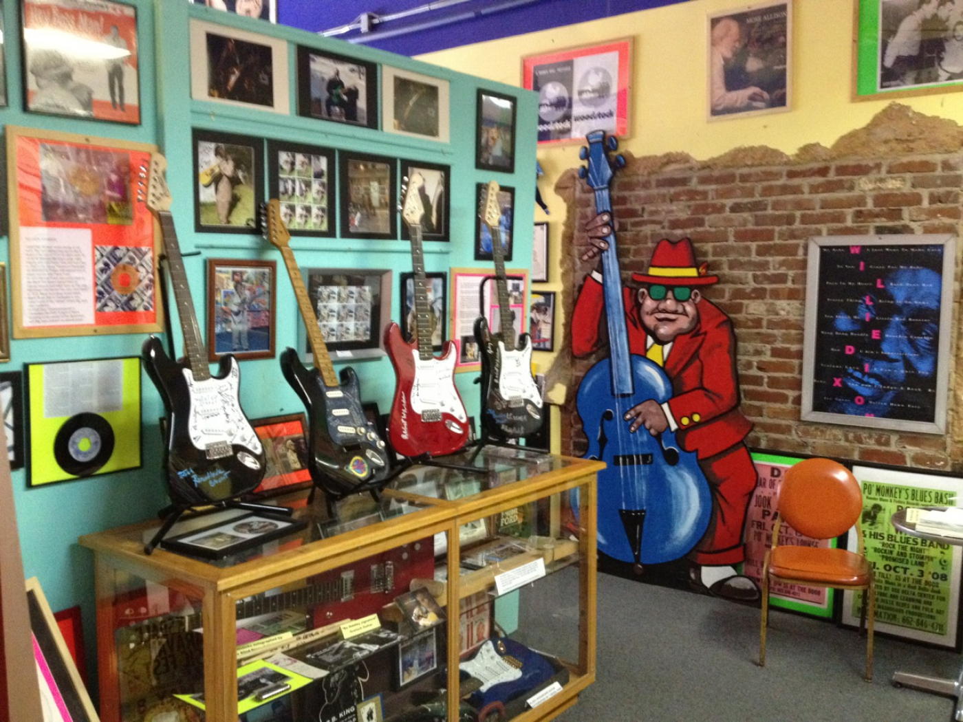 The Rock and Blues Museum is a must see!