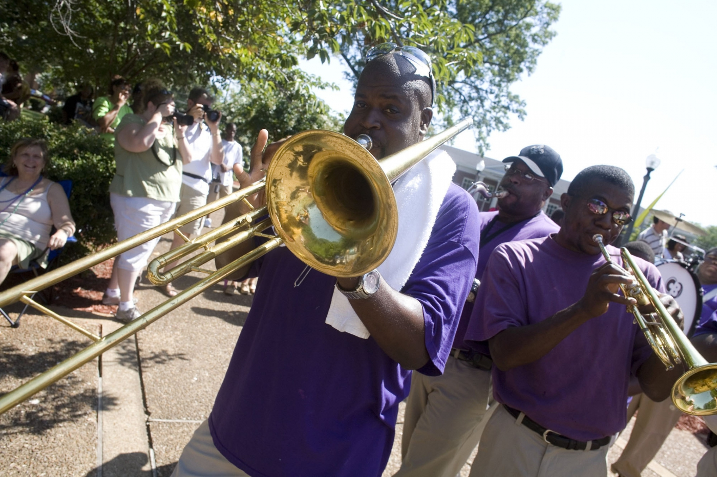 The W. C. Handy Festival is just one of the local music festival each year in Florence.