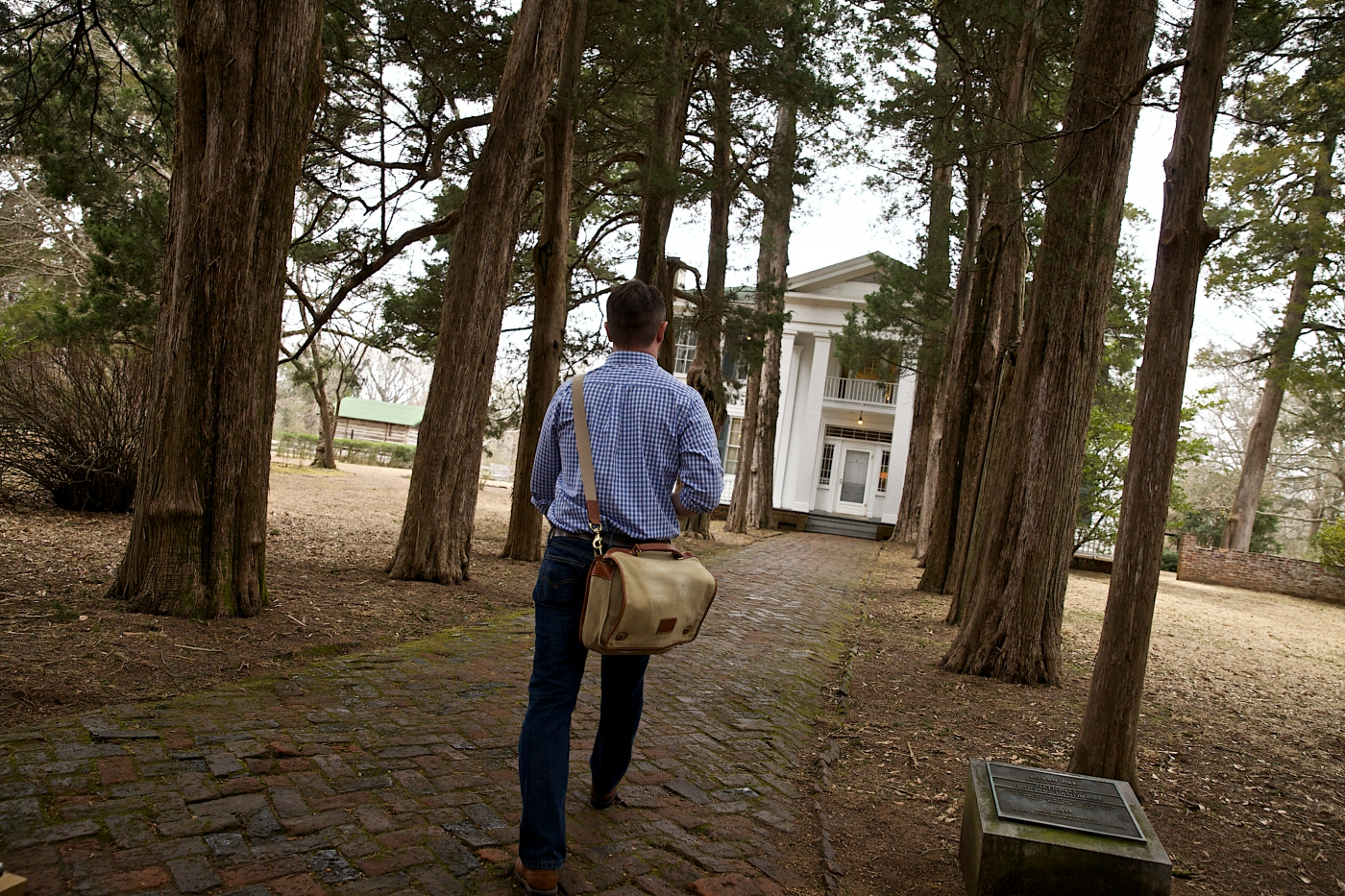William Faulkner loved Oxford and made it his home for many years. His house, Rowan Oak, is open to visitors year round.