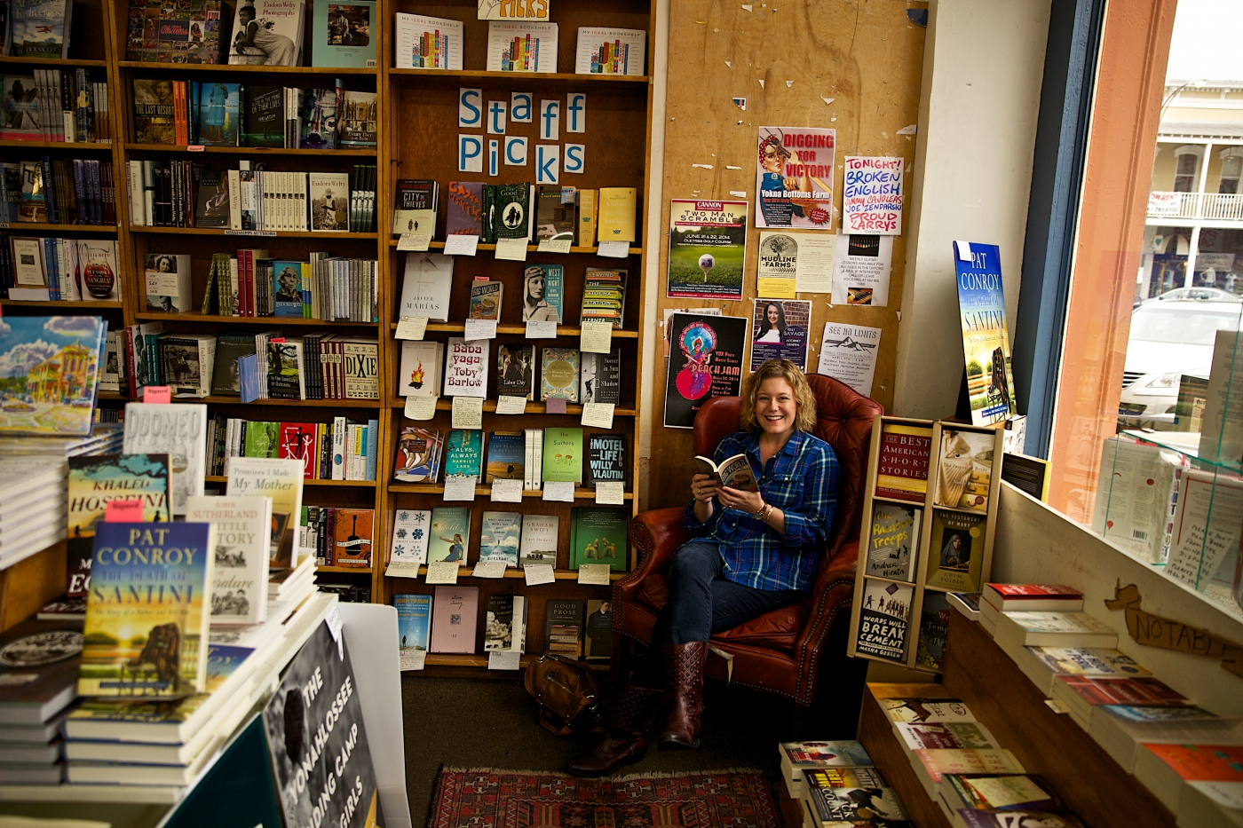 "You can't help but smile when visiting one of the ""Top 10 Independent Bookstores"" in the U.S."
